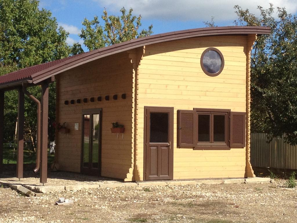 Fabricant constructeur de kits chalets bois habitables stmb for Bureau de jardin prix