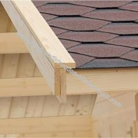 Couverture bardeaux bitumeux pour votre chalet en bois
