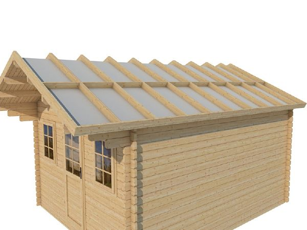 Comment isoler le sol et la toiture d 39 un chalet bois en kit for Isoler son jardin des regards