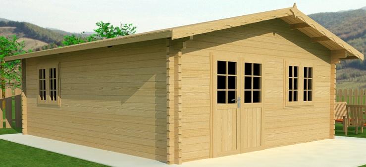 fabrication de chalet en bois fabrication chalet bois sur enperdresonlapin. Black Bedroom Furniture Sets. Home Design Ideas