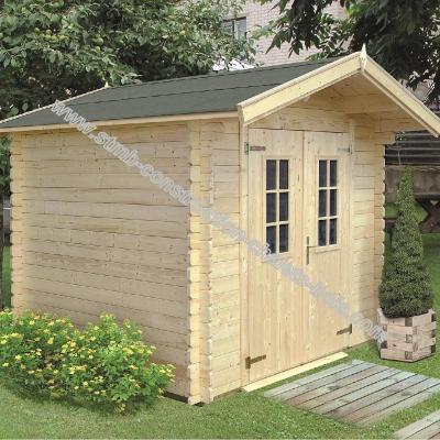 Constructeur abri de jardin bois en kit 28mm for Abris de jardin en kit