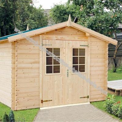 Constructeur abri de jardin bois en kit 28mm - Abris de jardin en kit ...