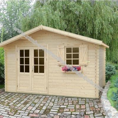 Vente de chalet bois en kit stmb construction chalets bois for Chalet jardin bois en kit