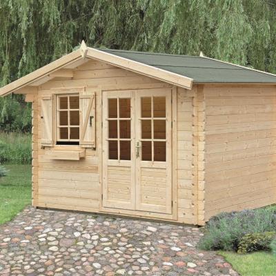 Constructeur abri de jardin bois en kit 28mm - Abri de jardin en kit ...