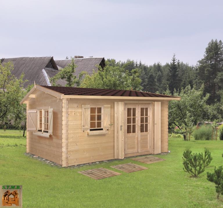 Chalet habitable 20 m en kit stmb for Aide jardin conseil