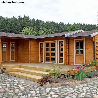 kits chalets en bois de 20 m2 50 m2 avec ou sans permis. Black Bedroom Furniture Sets. Home Design Ideas