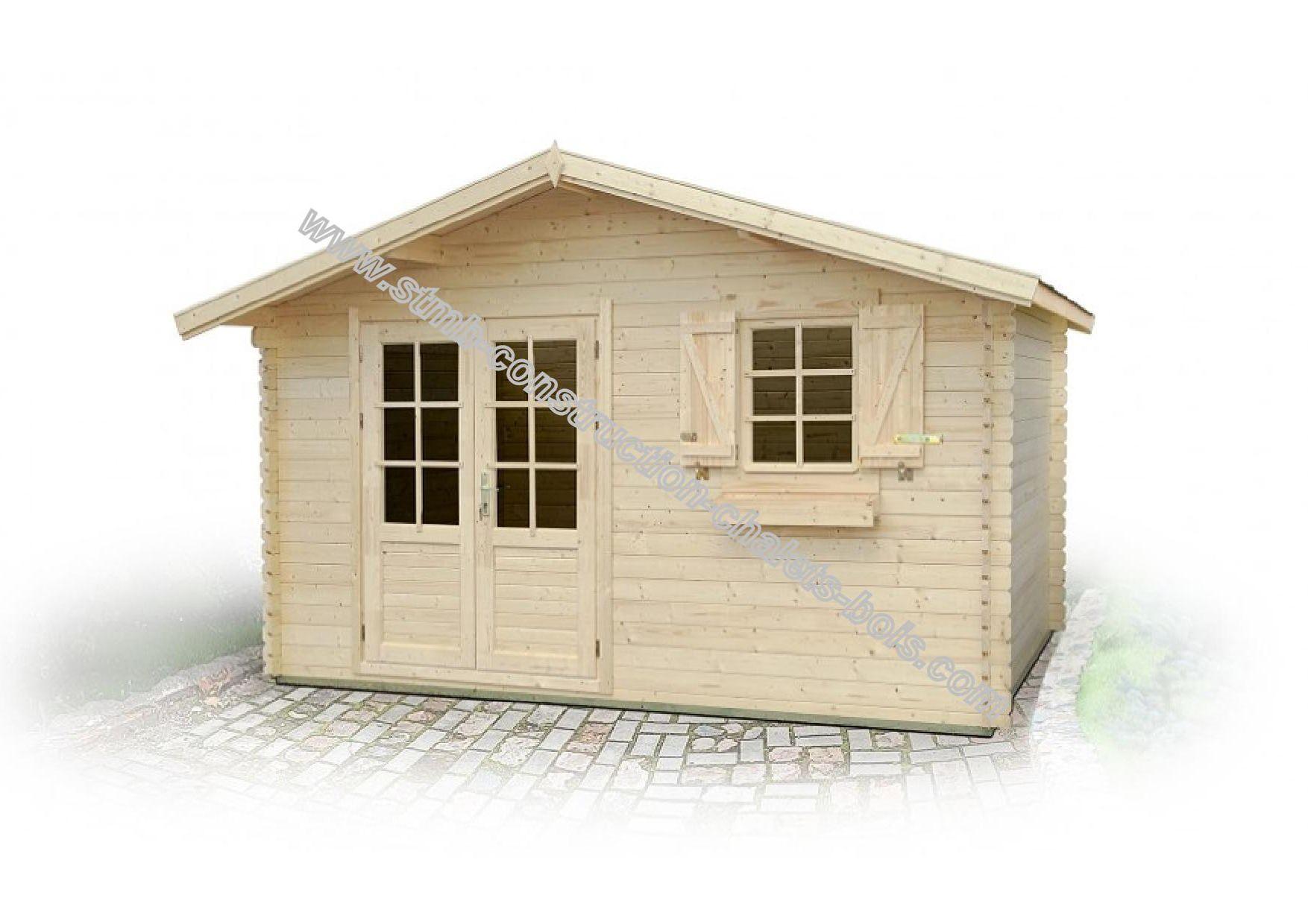 Un chalet en bois vendu en kit livr directement domicile for Construction chalet bois 05