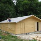 Ph34 montage kit chalet bois habitable loisirs stmb construction