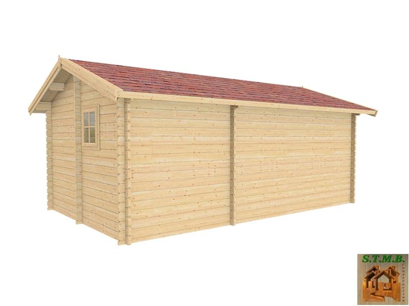 Chalet de loisir mod u00e8le H u00eatre 22 en madriers de 44 ou 68 mm # Constructeur Chalet Bois Habitable