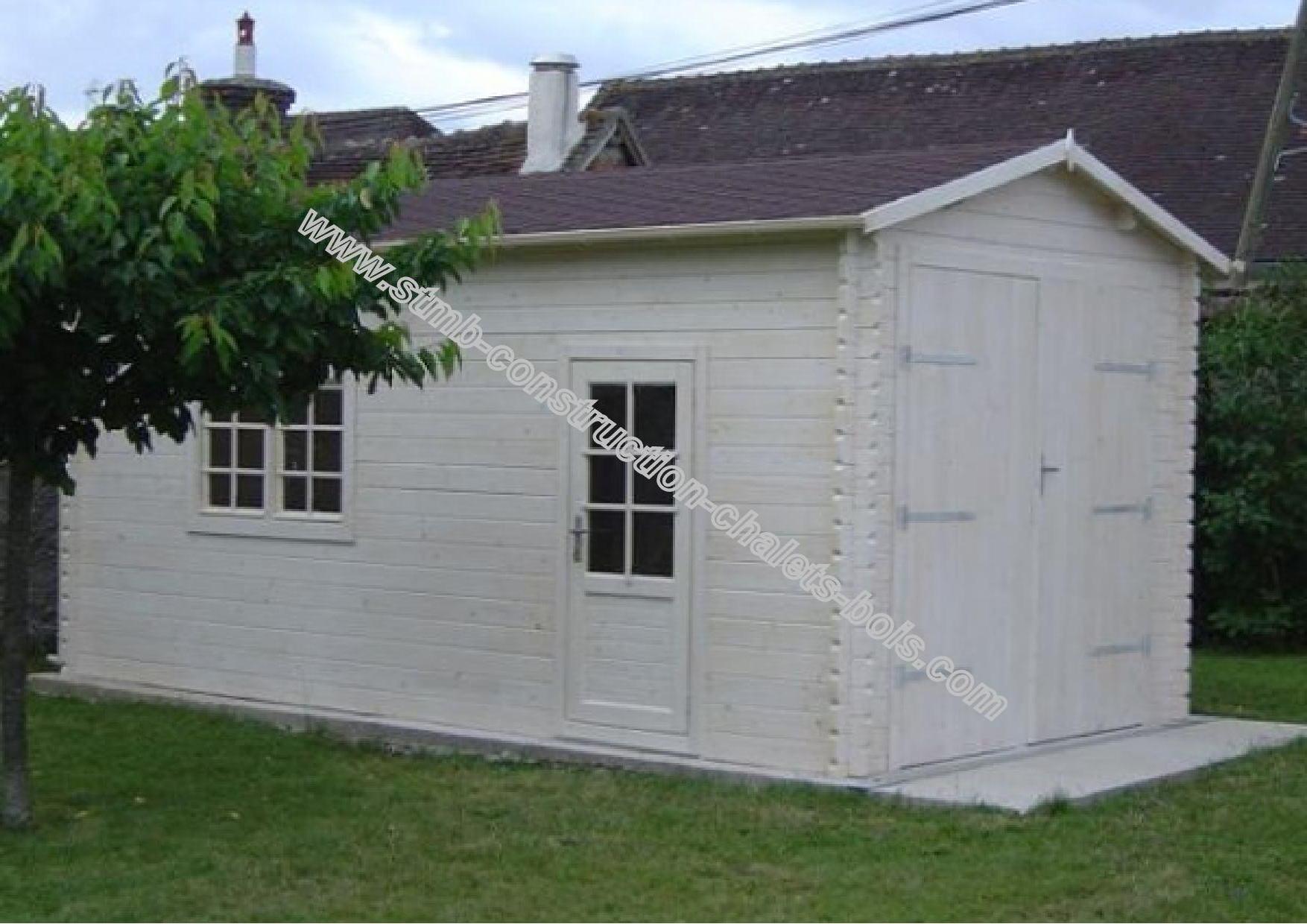 Construire un garage en bois sans permis - Construction garage sans permis de construire ...