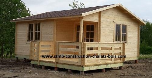 Habitable for Constructeur chalet bois habitable