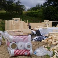 Photo 10 montage chalet en bois stmb