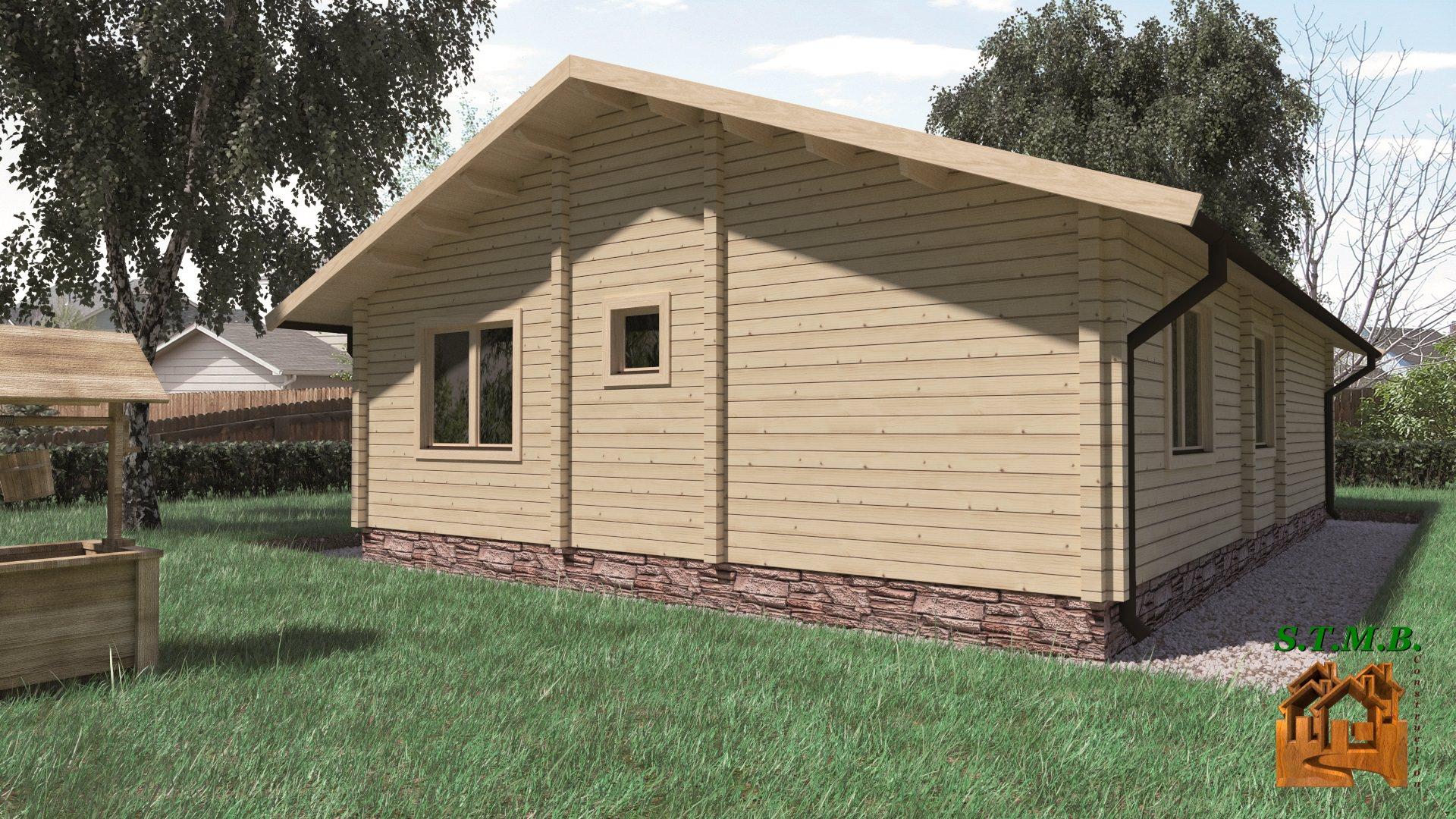 Chalet en bois habitable GAP 88, une véritable maison bois # Maison Bois Habitable