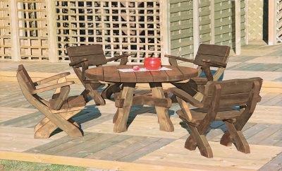 Photo 3 salon jardin bois stmb construction