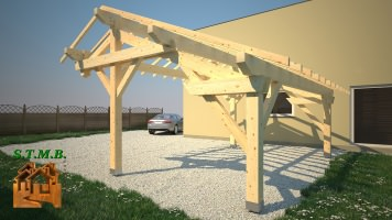 Photo 4 pergola bois stmb construction