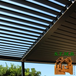 Photo 5 pergola bois stmb construction 1