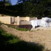 Photo 7 montage chalet en bois stmb