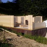 Photo 8 montage chalet en bois stmb