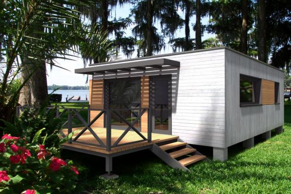 Photo habitat modulaire bois 40b