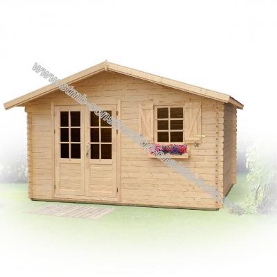 Constructeur abri de jardin bois en kit 28mm for Abri de jardin en kit