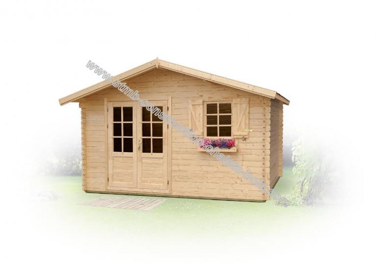 Constructeur abri de jardin bois en kit 28mm for Constructeur de chalet bois