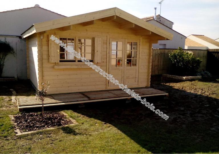 kit chalet en bois habitable de loisirs laurier 20 de 20 m 178 stmb construction