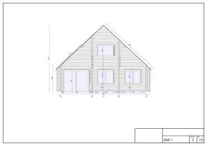 Plan 1 bureau etude chalet bois habitable