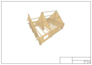 Plan 2 bureau etude chalet bois habitable