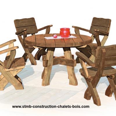 Salons de jardin for Salon construction bois