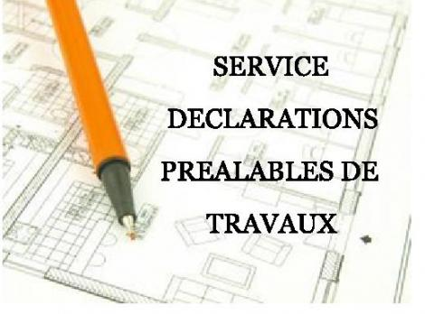 Service declaration travaux