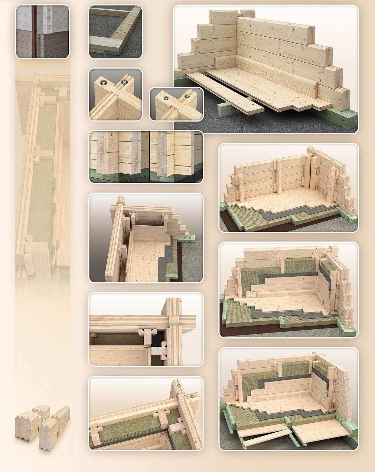 Comment isoler le sol et la toiture d 39 un chalet bois en kit for Isolation garage bois