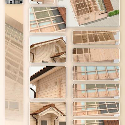 Structure bois isolation toiture 1