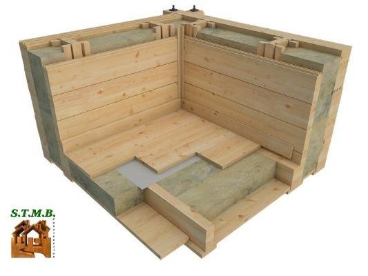 isolation maison bois stmb construction chalets. Black Bedroom Furniture Sets. Home Design Ideas