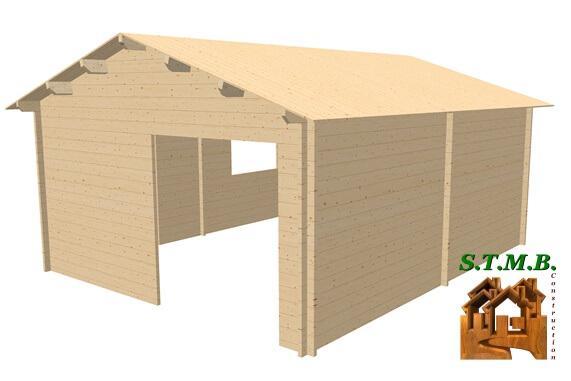 3d chalet en bois ambert26 stmb construction 1