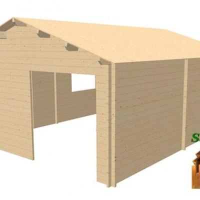 3d chalet en bois ambert26 stmb construction