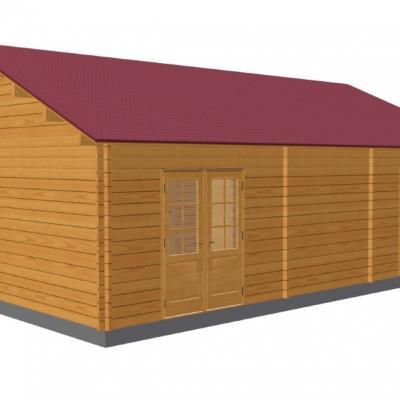 3d chalet en bois toulon stmb construction 1