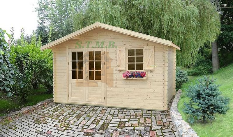 Abri de jardin abri de jardin en bois abri bois cabanon de jardin bois 16 m2 1