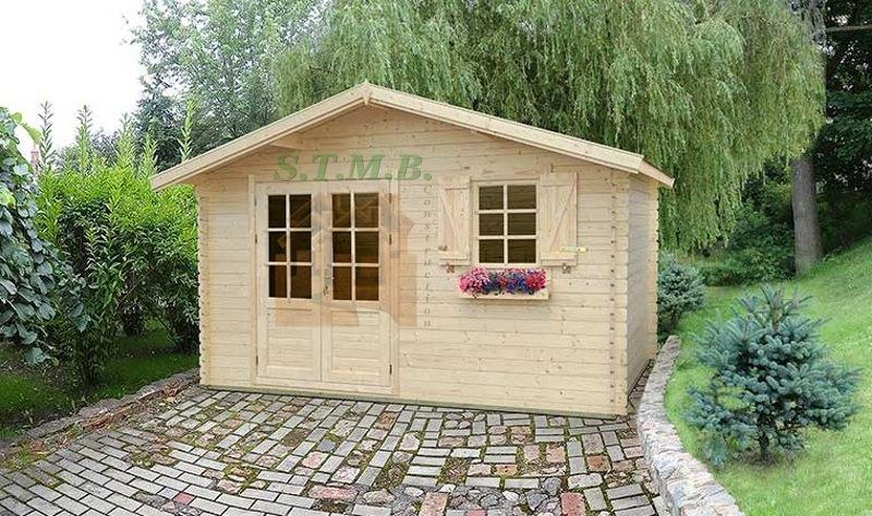 Abri de jardin abri de jardin en bois abri bois cabanon de jardin bouleau 14 m2