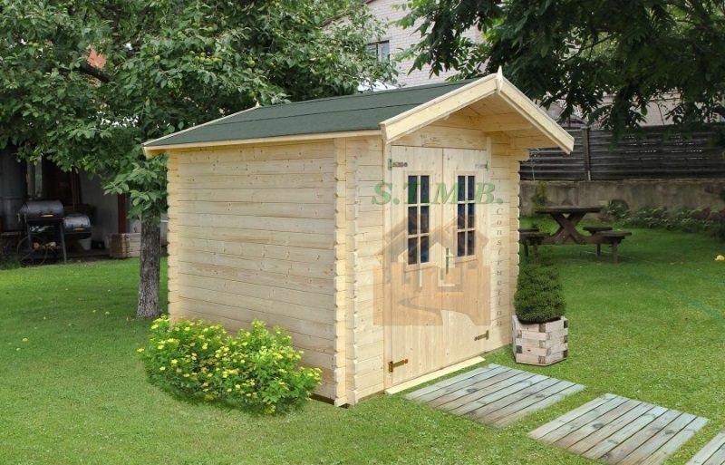 Abri de jardin abri de jardin en bois abri bois cabanon de jardin coton 7 5