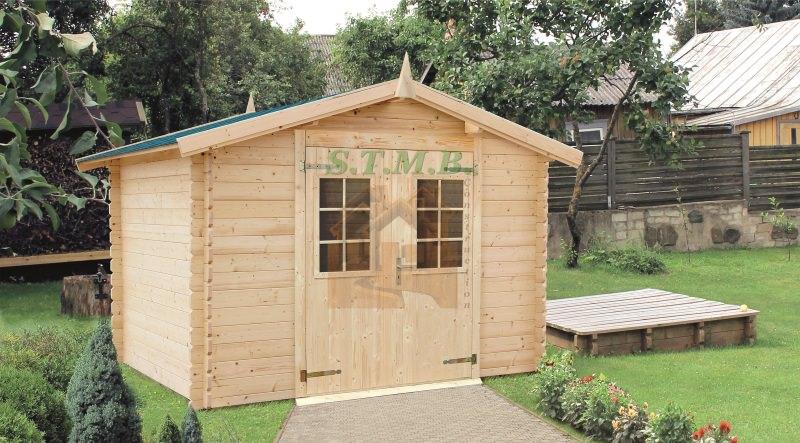 Abri de jardin abri de jardin en bois abri bois cabanon de jardin myrte 6