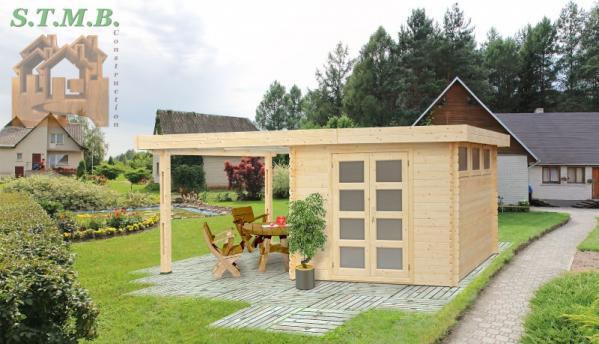 Abri de jardin chalet en bois stmb construction