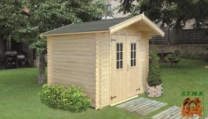 Abri de jardin en kit stmb construction