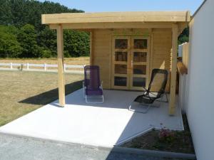 Abri de jardin toit plat abri de jardin en bois cabanon de jardin ailante 17 m2