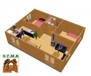 Amenagement 2 chalet en bois toulon stmb construction