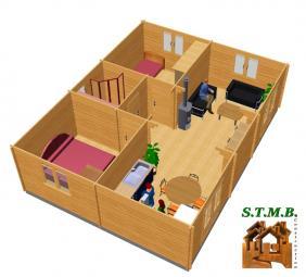 Amenagement 3 chalet en bois toulon stmb construction