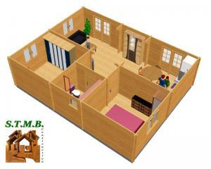 Amenagement 4 chalet en bois toulon stmb construction