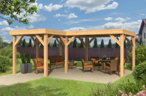 Amenager pergola kiosque ou gloriette pour les celebrations