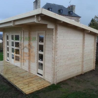 Bureau de jardin bureau de jardin en bois chalet de jardin sans permis de construire sydni 19 m