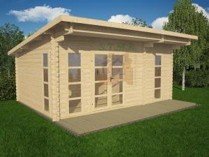 Bureau de jardin bureau de jardin en bois chalet de jardin sans permis de construire sydni 19 m 1