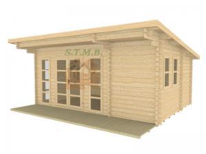 Bureau de jardin bureau de jardin en bois chalet de jardin sans permis de construire sydni 19 m 2